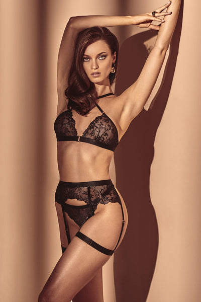 Vienna Garter Belt Set