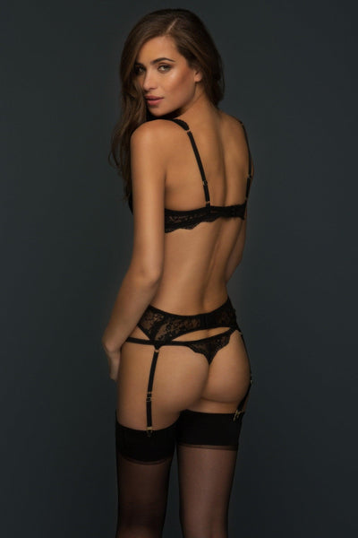 Alexandra Suspender Belt