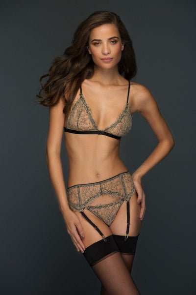 Lila Suspender Belt