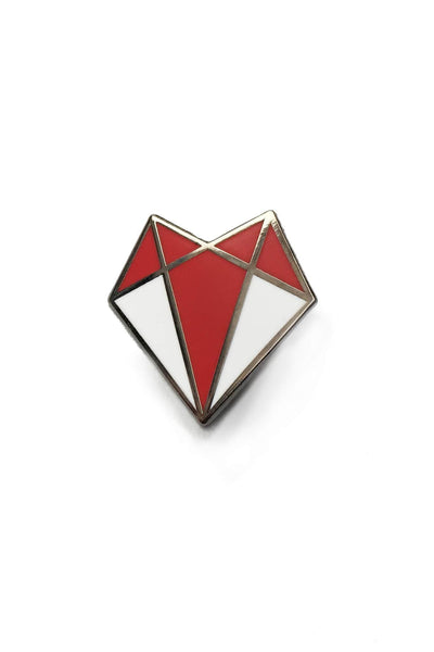 Darkest Fox Enamel Pin