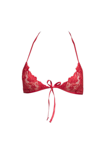 Mystique Red Bra
