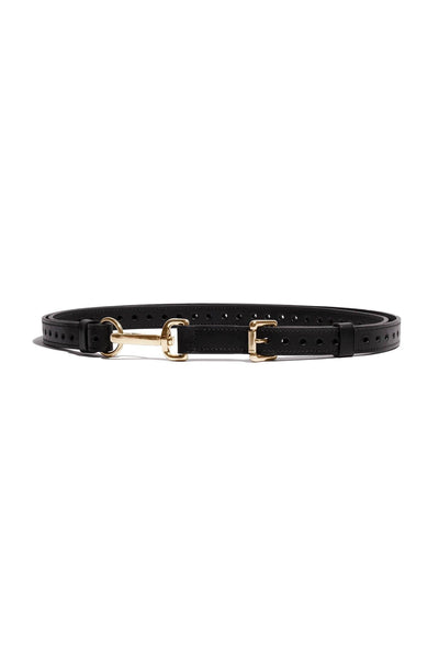 Pinson Bondage Leash Leather Belt