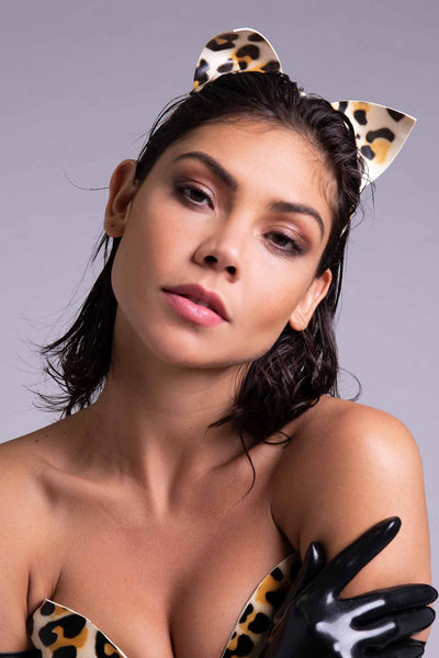 Epsilon Leopard Latex Cat Ears