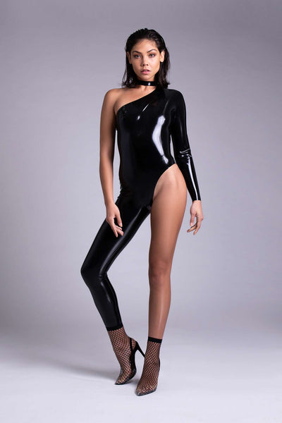 Upsilon Latex Catsuit