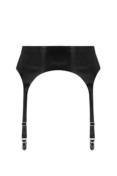 Latex Garter Belt