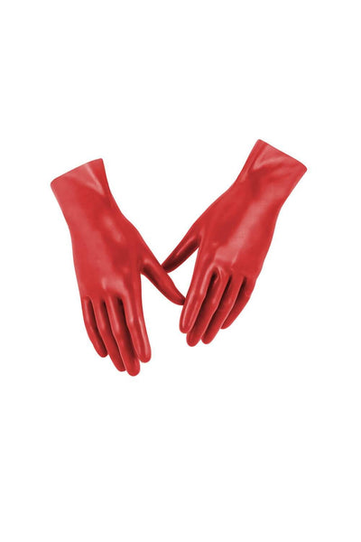 Psi Scarlet Red Latex Gloves