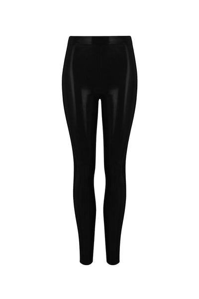 Elissa Poppy Latex Leggings
