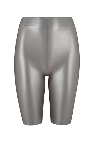 Beta Latex Silver Biker Short
