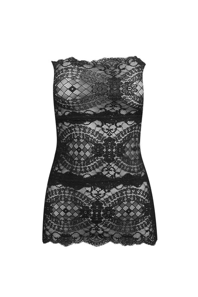 Diamond Lace Tube Dress