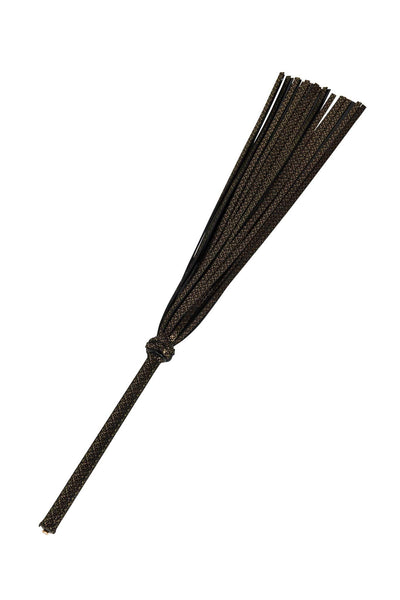 Lush Black & Gold Flogger