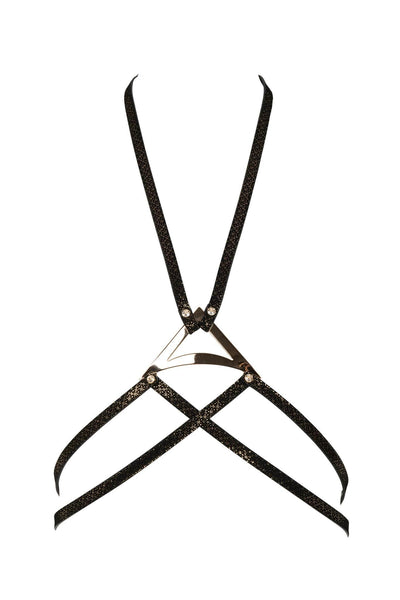 Lush Black & Gold Harness
