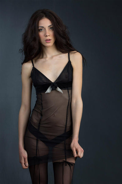 Claire Haute Couture Sheer Slip