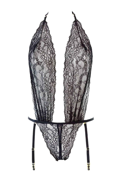 Le Petit Secret Open Thong Bodysuit