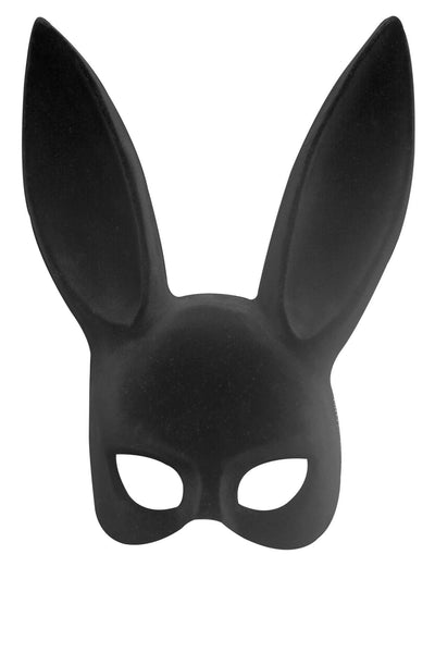 Black Bunny Mask w Tail