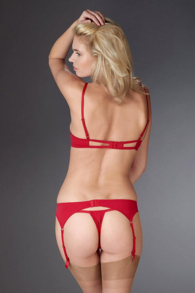 Le Petit Secret Red Garter Set