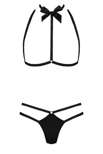 Le Petit Secret Harness Thong Set