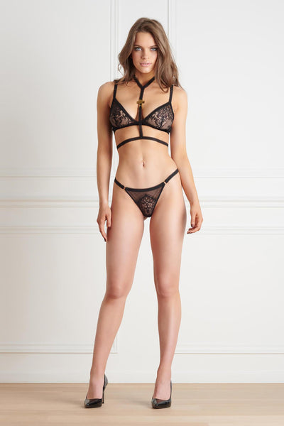 Inspiration Divine Harness Lingerie Set