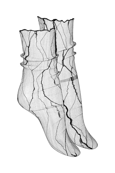 Vascular Sheer Mesh Socks