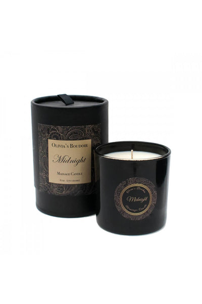 Olivia's Boudoir Massage Candle • Midnight