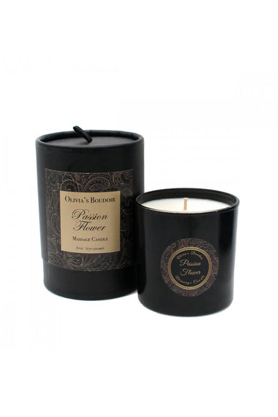 Olivia's Boudoir Massage Candle • Passion Flower