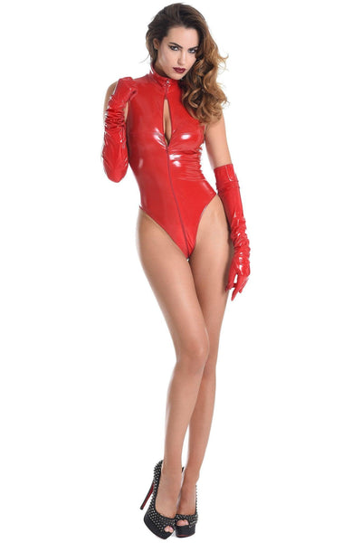 Manon Red Bodysuit