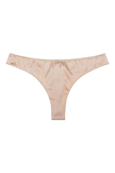 Everyday Bisque Silk Thong