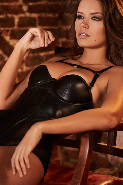 Nina Leather Bodysuit