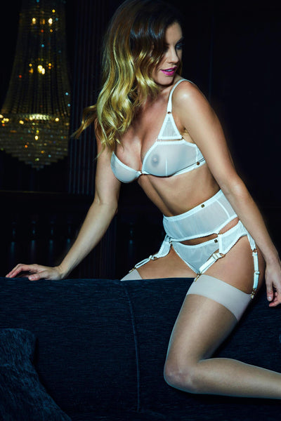 Eve Suspender Bridal Set