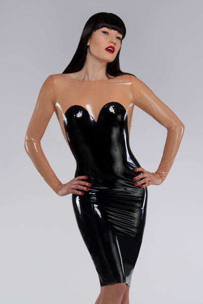 Cosmopolitan Latex Dress