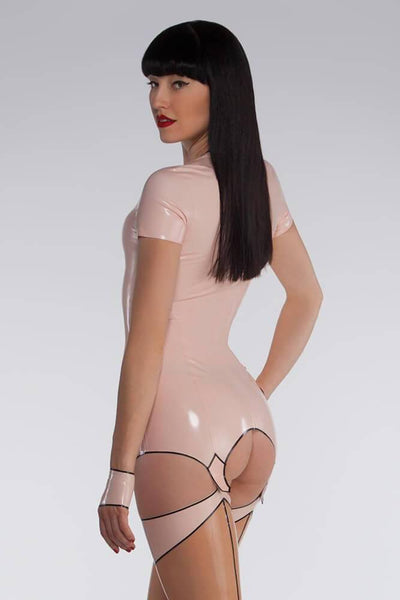 Latex Garter Dress