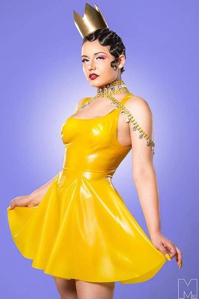Latex Swing Dress