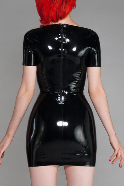 Sweetheart Latex Dress