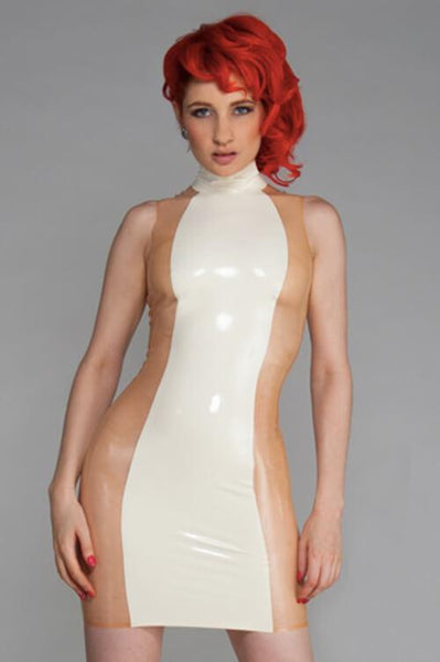 Vitra Latex Mini Dress