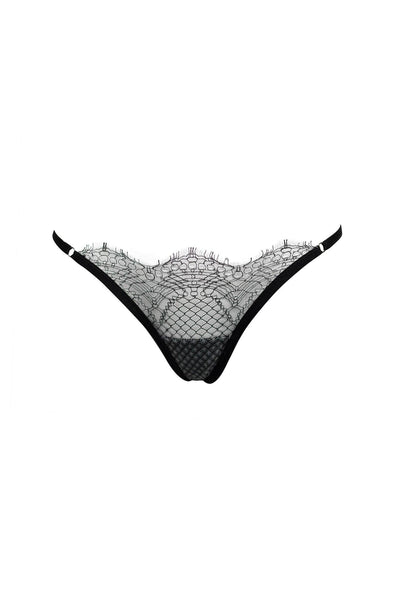 Charlotte French Lace Thong