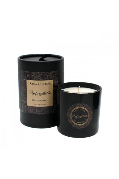 Olivia's Boudoir Massage Candle • Unforgettable