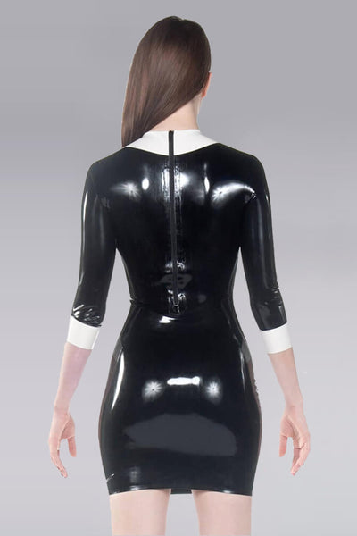Wednesday Latex Dress
