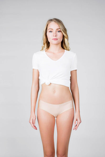 Nude Invisible Boyshort Panty