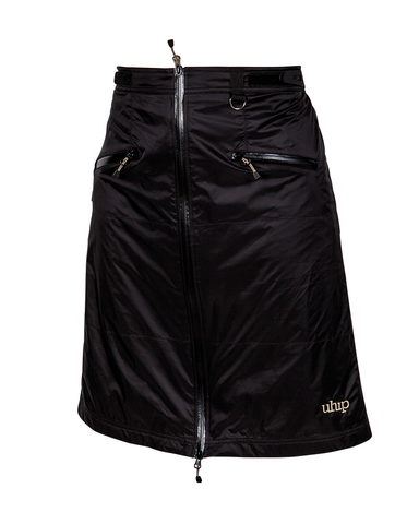UHIP SKIRT/PILS BLACK