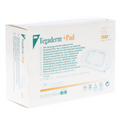 3M™ Tegaderm™ +Pad Film Dressing with Non-Adherent Pad - 3582 - Medsitis