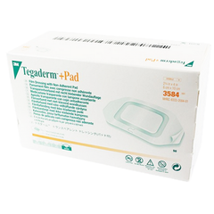 3M™ Tegaderm™ +Pad Film Dressing with Non-Adherent Pad - 3584