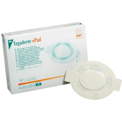 3M™ Tegaderm™ +Pad Film Dressing with Non-Adherent Pad - 3587