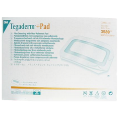 3M™ Tegaderm™ +Pad Film Dressing with Non-Adherent Pad - 3589