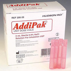 Addipak Sodium Chloride 0.9% Inhalation Solution 3mL - 200-39