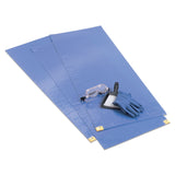 ChemoPlus™ Blue Floor Mats - CT0071