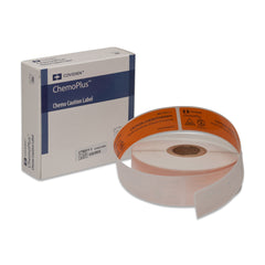 "ChemoPlus™ ""Caution"" Medical Labels - CT60 - Medsitis"