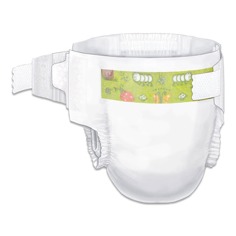 Curity™ Baby Diapers with Tab Closure Size 2 Small/Medium | 80018A - Medsitis