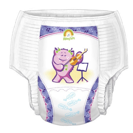 Curity™ Pull-On Youth Heavy Absorbency Training Pants Girls 4T/5T - 70065GA