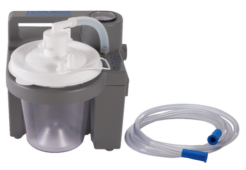 DeVilbiss 7305 Series Stationary Homecare Suction Unit - 7305D-D - Medsitis