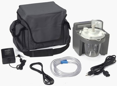 DeVilbiss 7305 Series Portable Homecare Suction Unit - 7305P-D - Medsitis