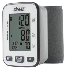 Drive Deluxe Automatic Wrist  Blood Pressure Monitor | BP3200 - Medsitis